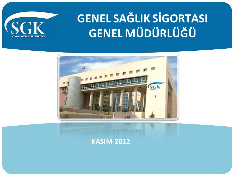 Genel sağlık sigortasına ilişkin tüm mevzuatı içerir GSS Bilgi Bankası oluşturulmuş ve yayımı için ilgili birimlere gönderilmiştir.