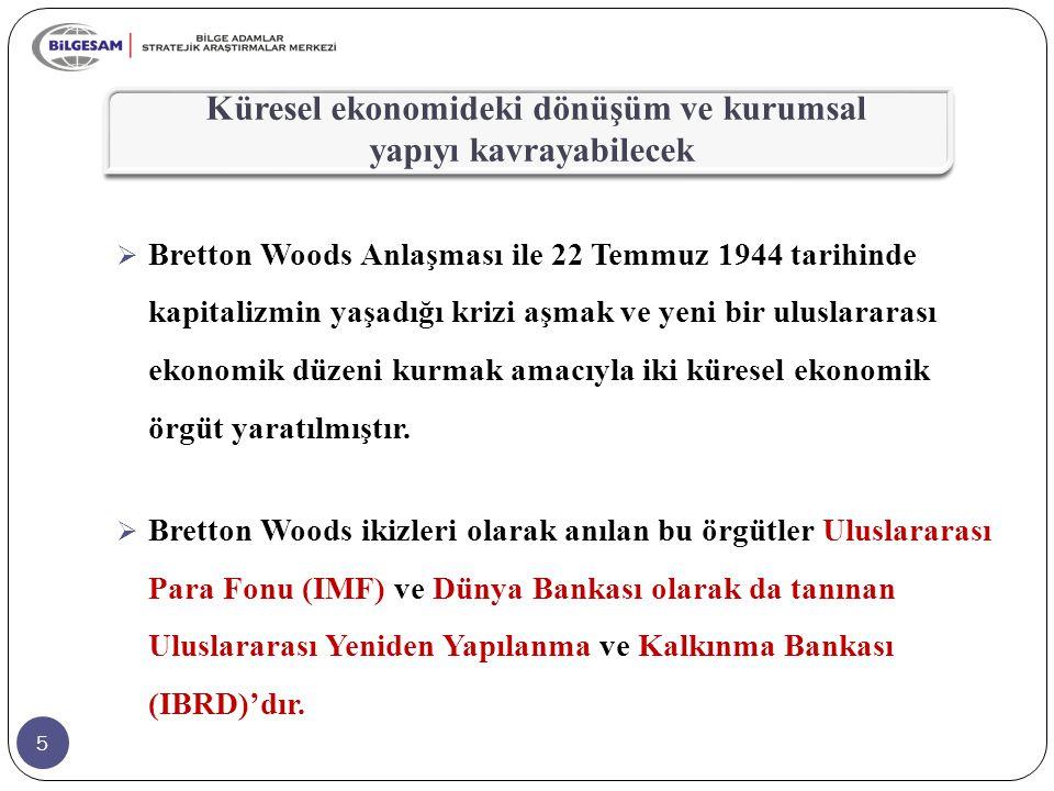 46 KISA BİLGİLER Türkiye, İcra Direktörleri Kurulu'nda 2012'de İcra Direktör Vekili, 2014'de ise İcra Direktörü olarak yer almıştır.