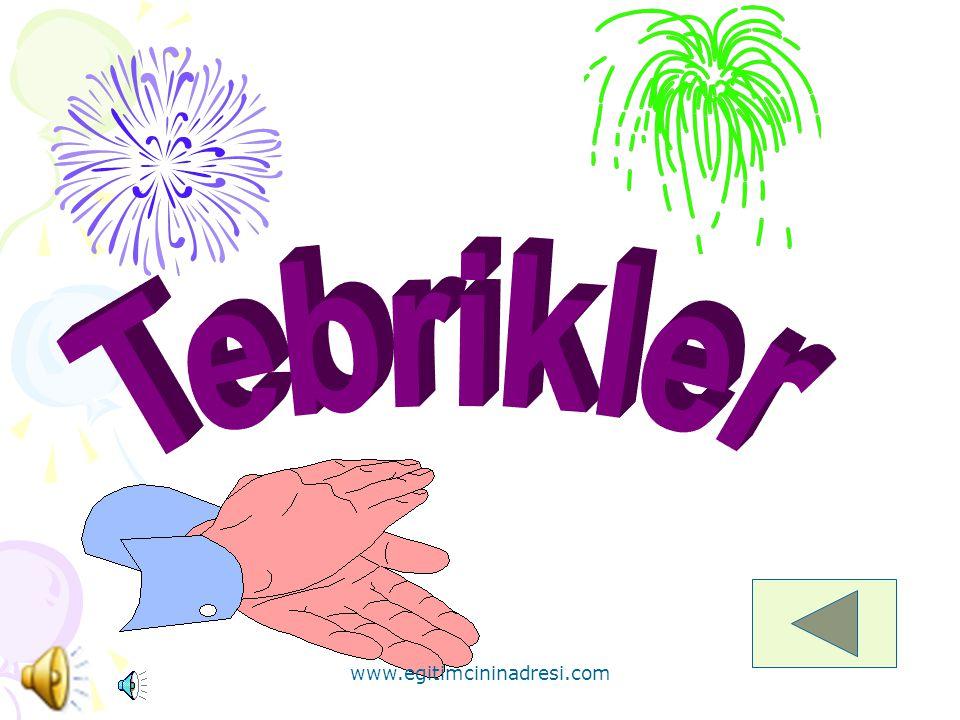 * Aşağıdaki balonlardan hangisi yeşil renklidir? www.egitimcininadresi.com