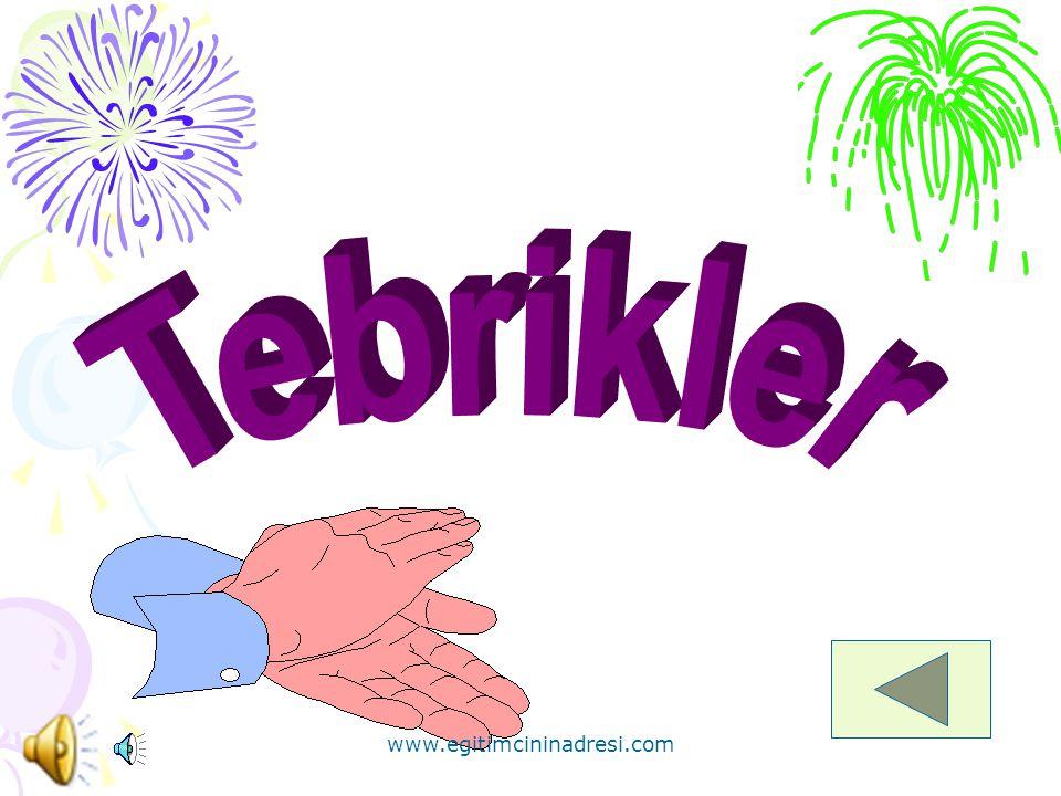 *Aşağıdaki şekillerden hangisi mor renklidir? www.egitimcininadresi.com