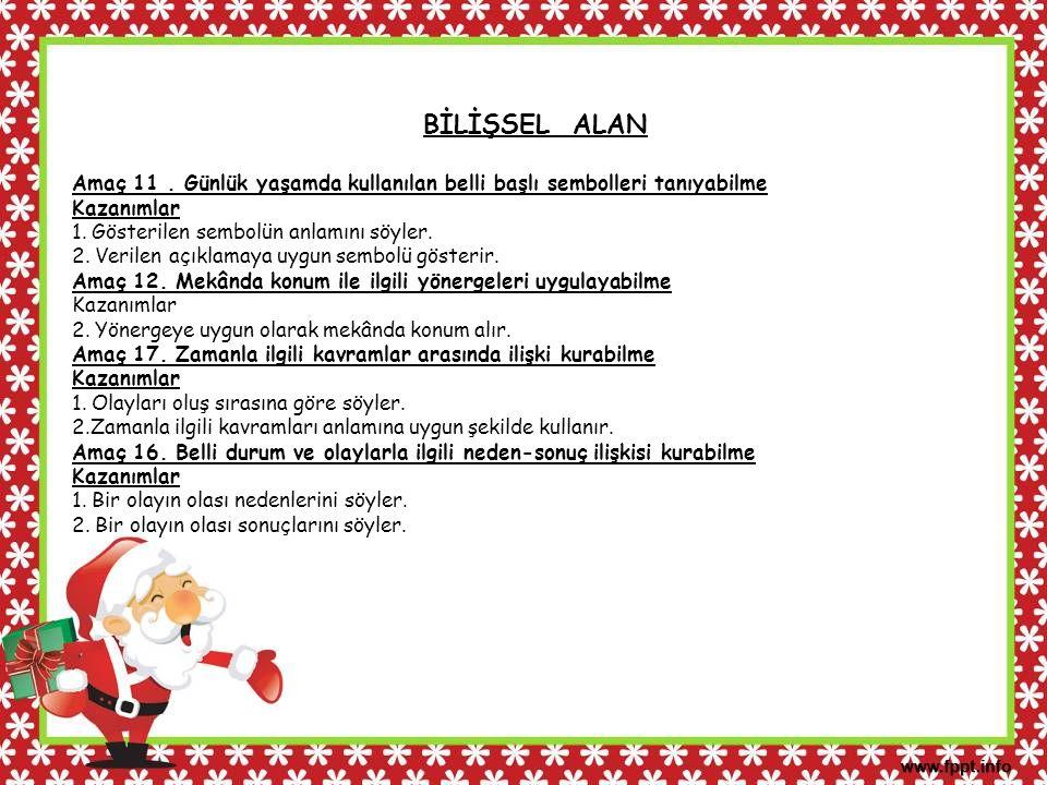 ÖZBAKIM BECERİLERİ Amaç 1.