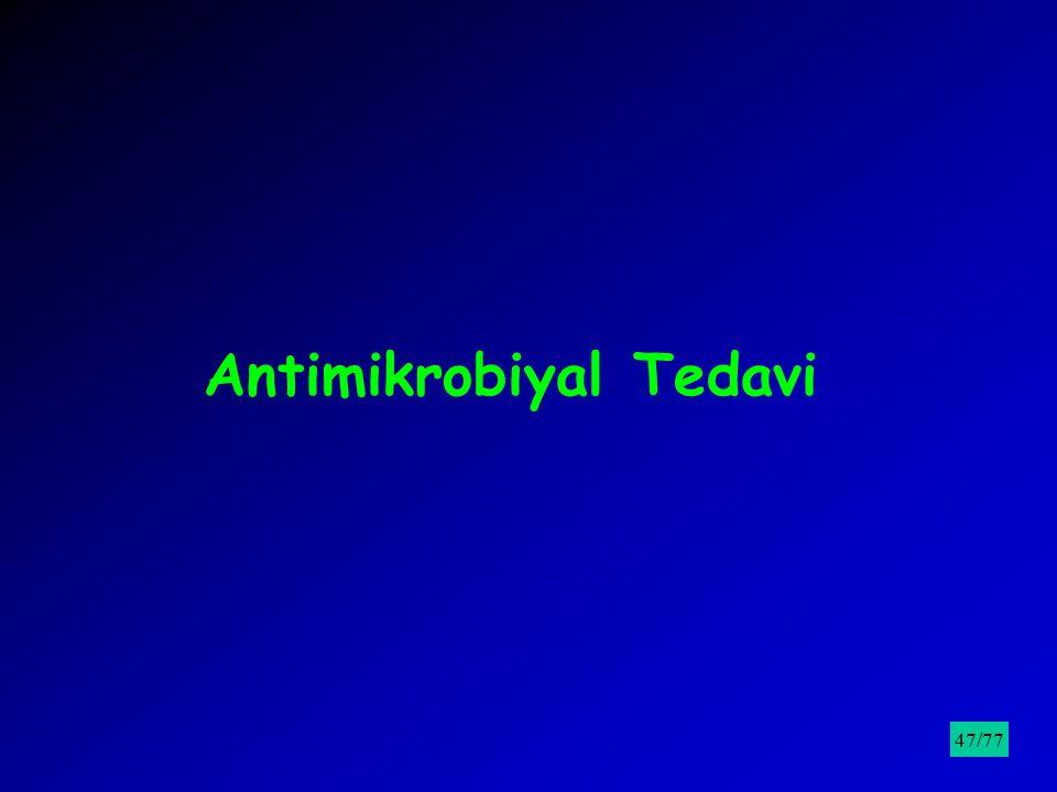 Antimikrobiyal Tedavi /9547/77