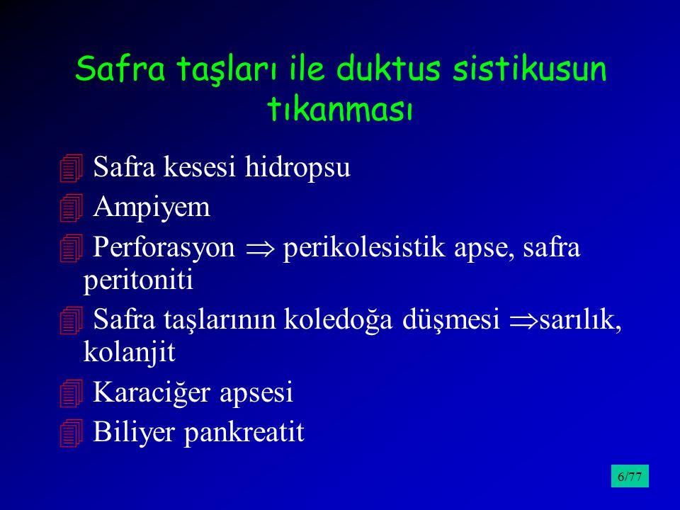 Ayırıcı Tanı; Siroz /9527/77