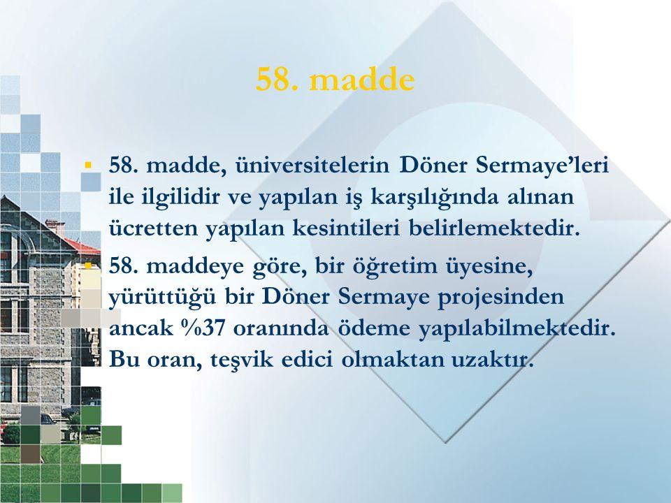 58. madde  58.