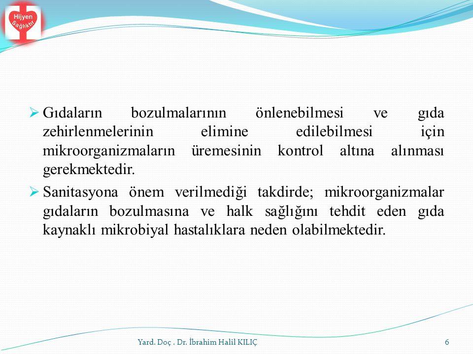 İç Faktörler Yard. Doç. Dr. İbrahim Halil KILIÇ37