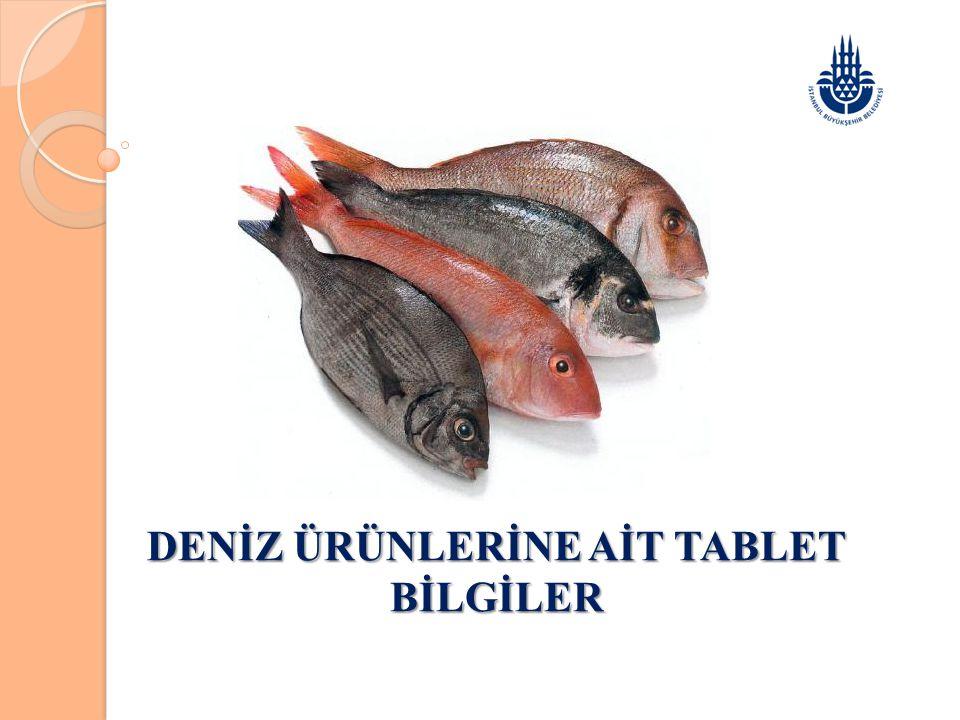 Ülkemizde yıllık 2011 yılı verilerine göre 88.344 Ton Deniz balıkları üretimi olmuştur.
