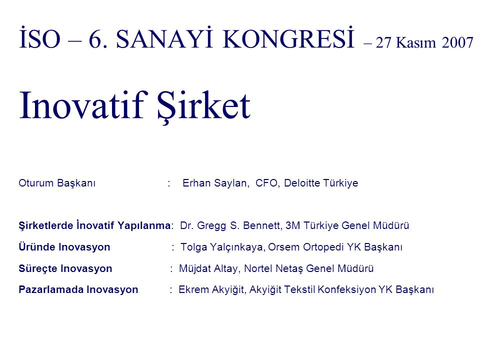 İSO – 6.