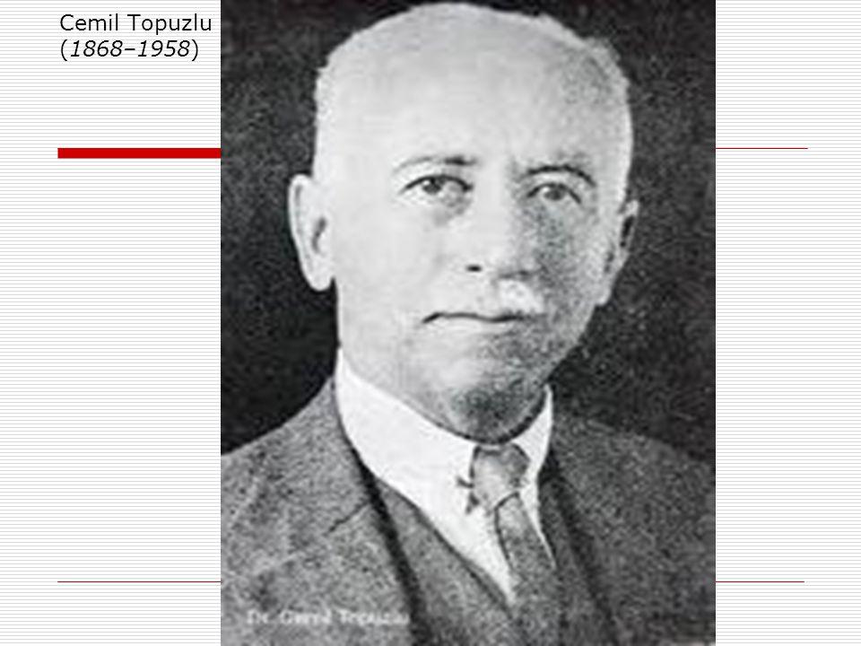 Dönemin Önde Gelen Bazı Hekimleri  Besim Ömer Paşa (AKALIN) (1861–1940) Modern obstetrik, neonatoloji ve pediatrinin kurucusu kabul edilir.