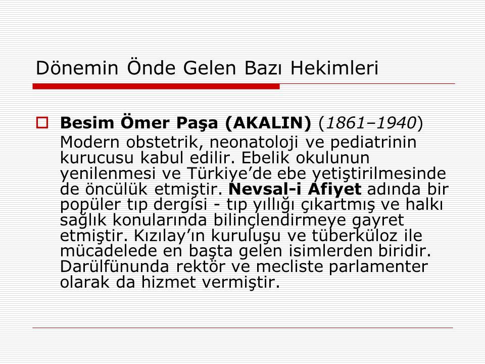Besim Ömer Paşa (AKALIN) (1861–1940)