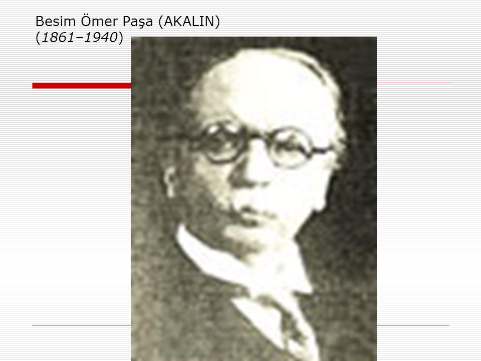 Dönemin Önde Gelen Bazı Hekimleri  Tevfik Salim SAĞLAM (1882–1963) Türkiye'de göğüs hastalıkları alanının ve tüberküloz ile mücadelenin öncü isimlerindendir.