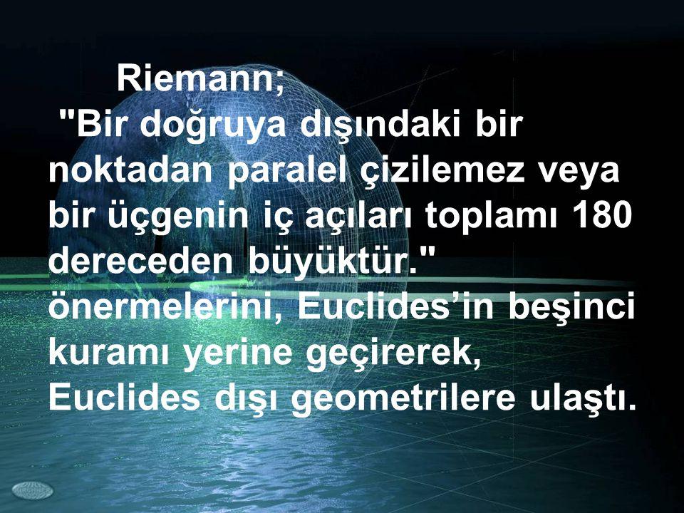 Riemann;