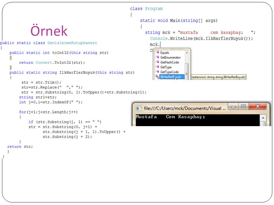Lambda İfadeleri Kodun veri olarak ifade edilmesinde kullanılır.
