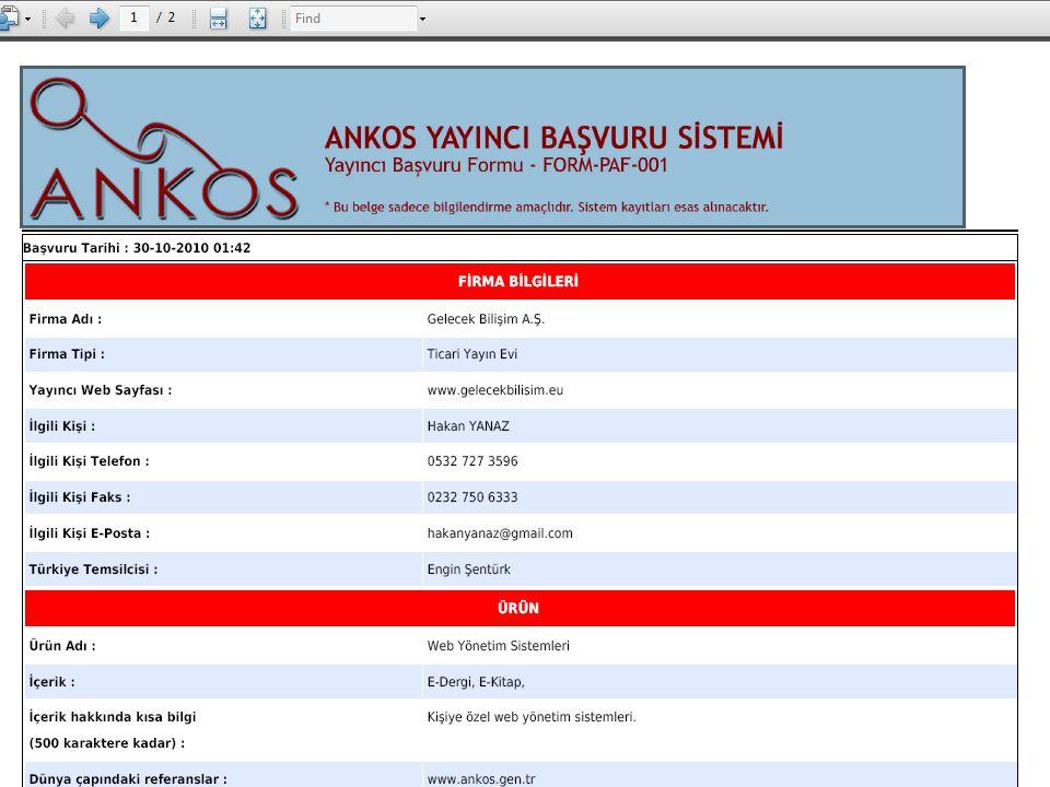 13/1 ANKOS VDG 2009