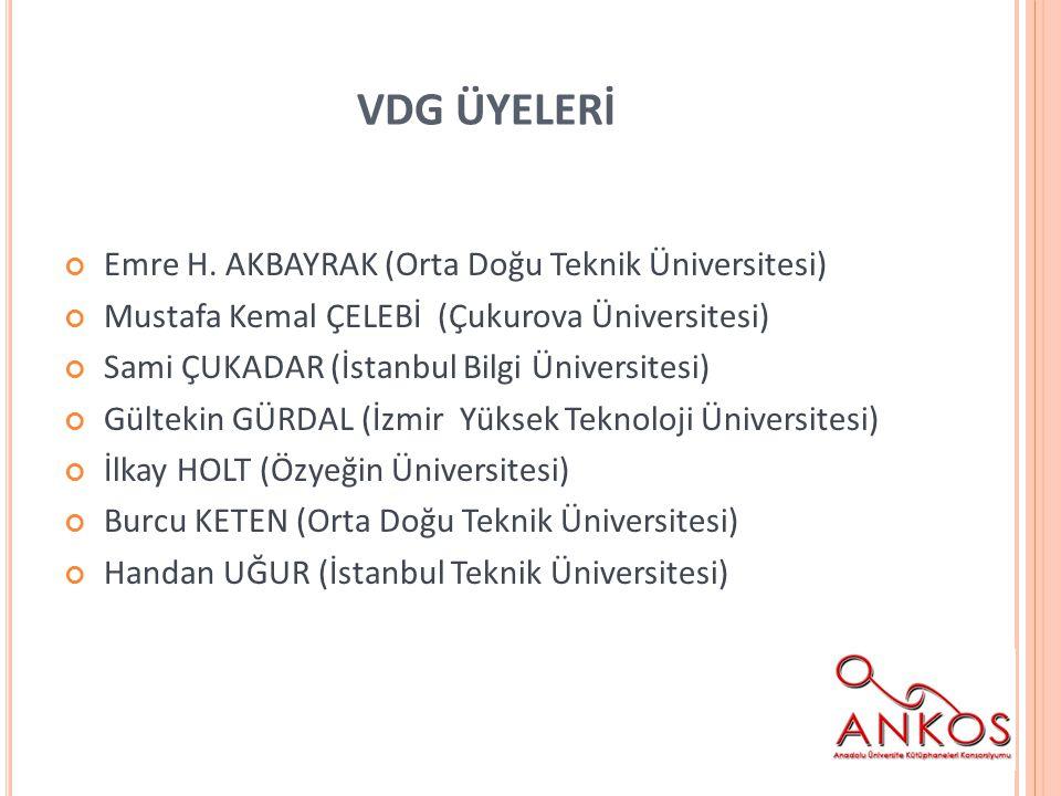 VDG ÜYELERİ Emre H.