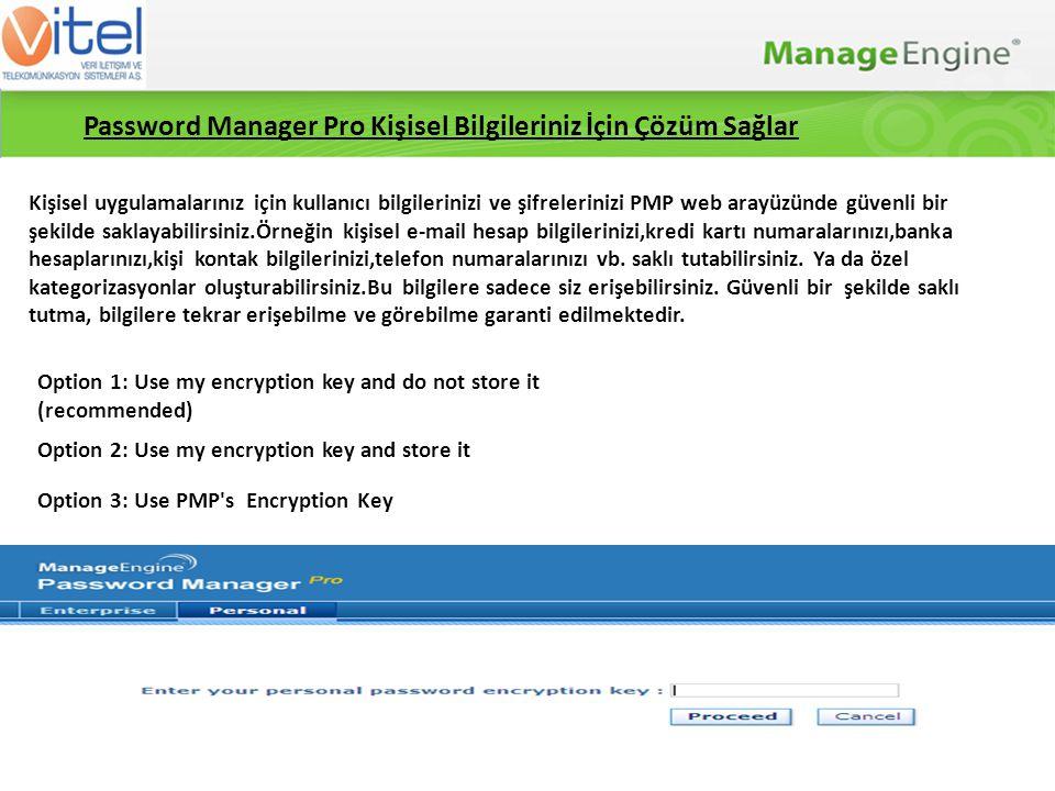 Password Manager Pro Neden Güvenlidir .