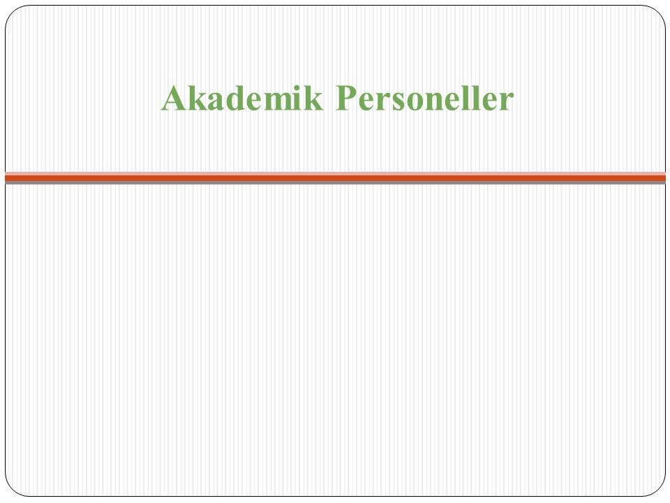 Akademik Personeller