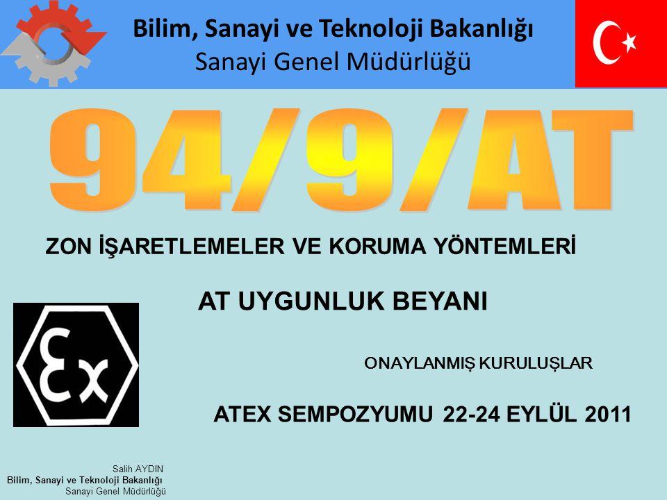 www.rechner.de Salih AYDIN Bilim, Sanayi ve Teknoloji Bakanlığı Sanayi Genel Müdürlüğü