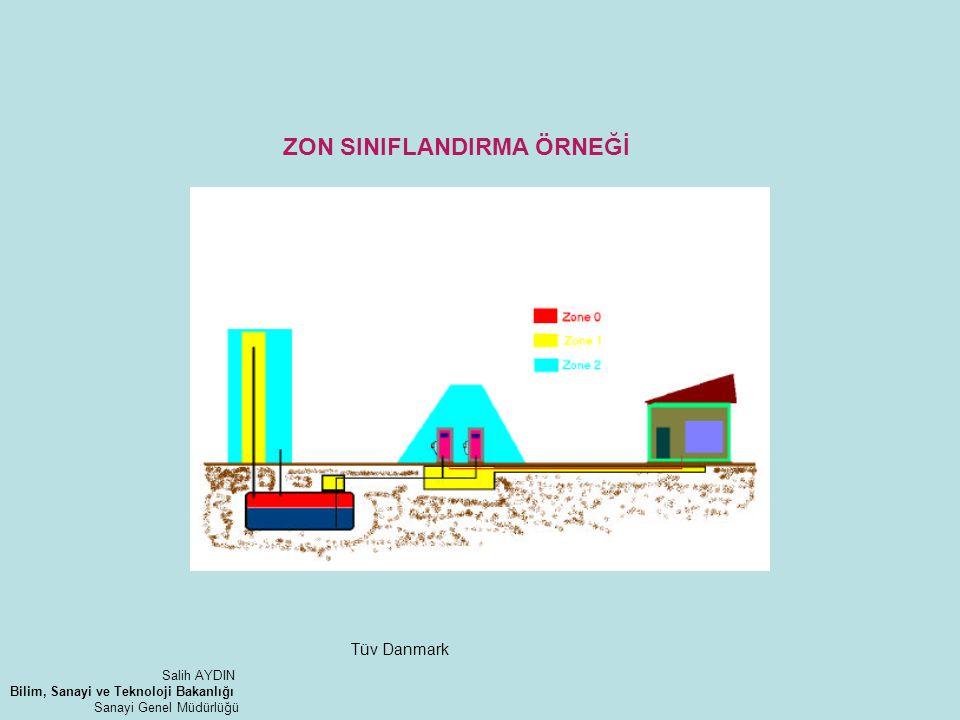 ZON SINIFLANDIRMA ÖRNEĞİ Tüv Danmark Salih AYDIN Bilim, Sanayi ve Teknoloji Bakanlığı Sanayi Genel Müdürlüğü