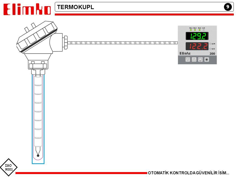 TRANSDUCER Fiziksel parametre Elektriksel sinyal (standart dışı) eP ÇEVİRİCİ Elektriksel sinyal (standart) Ee Elektriksel sinyal (standart dışı) TRANSMITTER Elektriksel sinyal (standart) Ep Fiziksel parametre TransducerÇevirici e STANDART SİNYAL AKIM 0 – 20 mA 4 – 20 mA 0 – 100 mA 0 – 1 mA -- GERİLİM 0 – 1 V 0 – 10 V 1 – 5 V 0 – 100 mV -- 20 mA 12 mA 4 mA % 0% 50% 100 Transducer Çevirici ISO 9001 10 OTOMATİK KONTROLDA GÜVENİLİR İSİM...