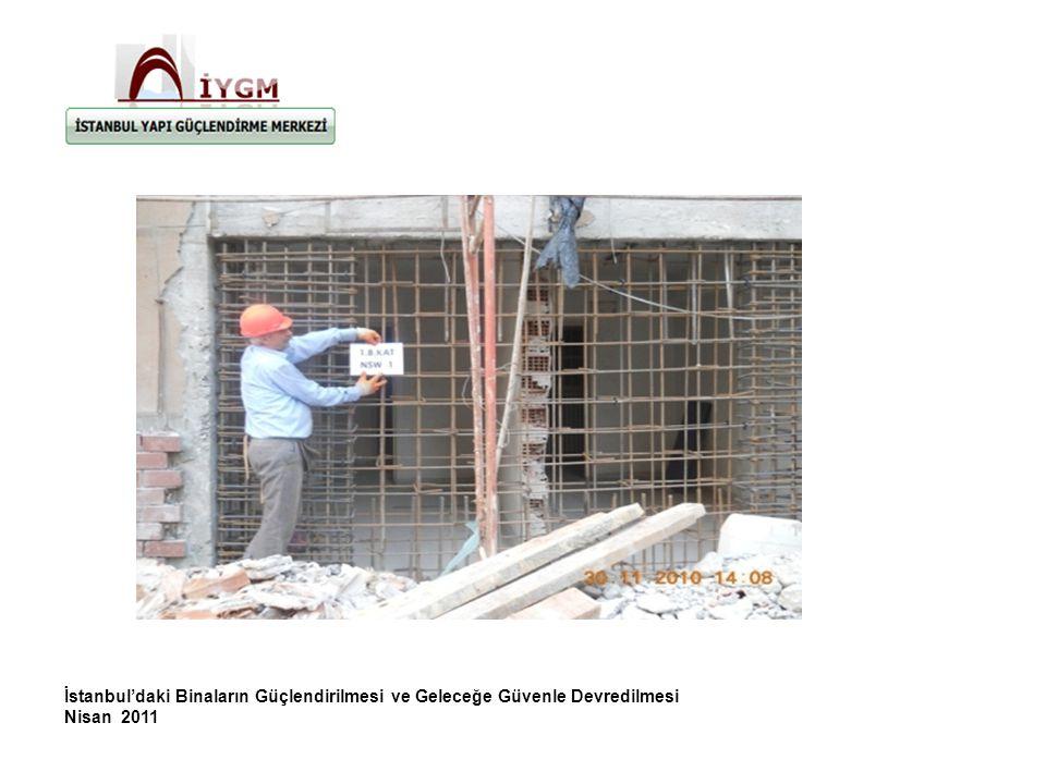 İstanbul'daki Binaların Güçlendirilmesi ve Geleceğe Güvenle Devredilmesi Nisan 2011
