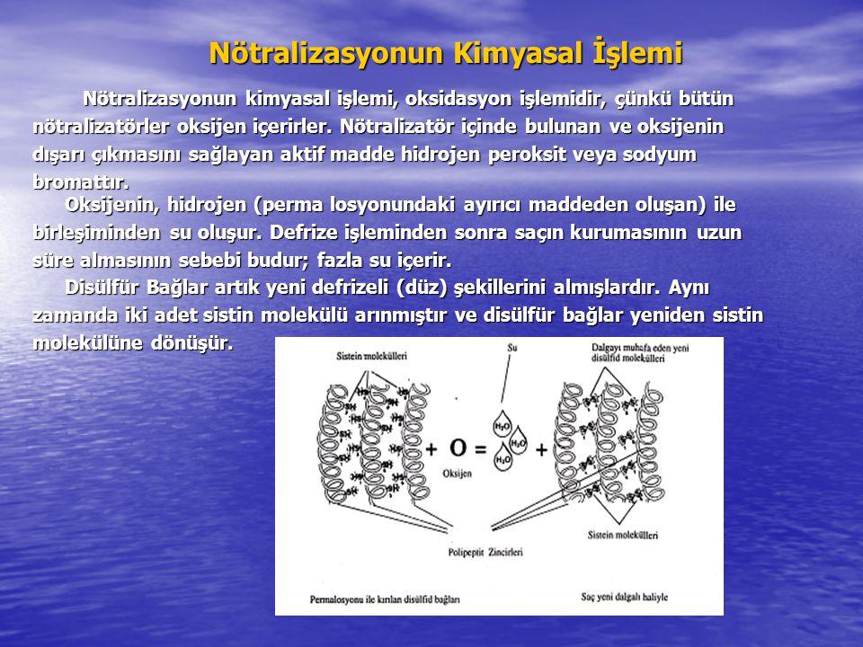 Nötralizasyonun Kimyasal İşlemi Nötralizasyonun kimyasal işlemi, oksidasyon işlemidir, çünkü bütün Nötralizasyonun kimyasal işlemi, oksidasyon işlemidir, çünkü bütün nötralizatörler oksijen içerirler.