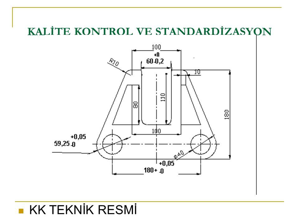 KK TEKNİK RESMİ