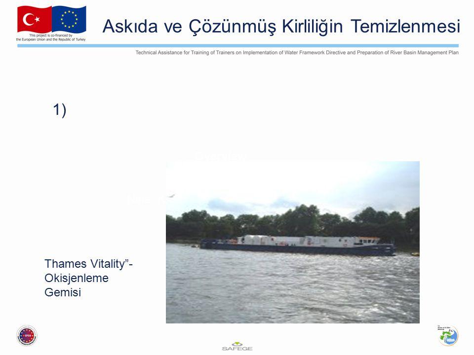 1) Overview Case Study Examples Lessons Learnt Nine Key Components of an EWERS Thames Vitality - Okisjenleme Gemisi Askıda ve Çözünmüş Kirliliğin Temizlenmesi