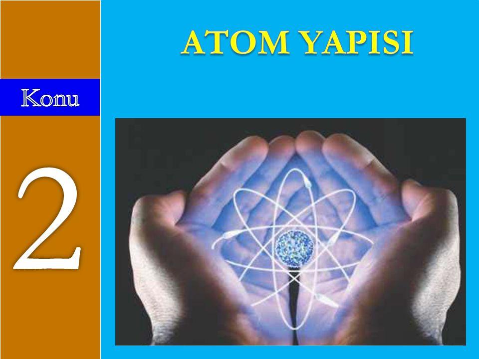 HİDROJENİN İZOTOPLARI İZOTOP: Hidrojen Protium 1 p + 0 n Ağır Hidrojen Deuterium 1 p + 1 n Radyoaktif Hidrojen Tritium 1 p + 2 n