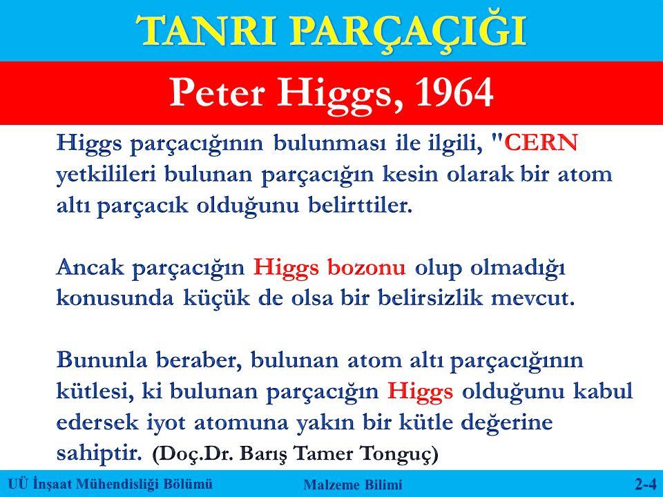 Peter Higgs, 1964