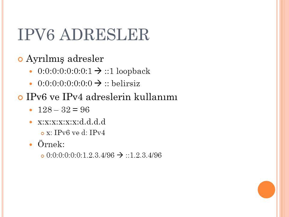 IP AND IPV6