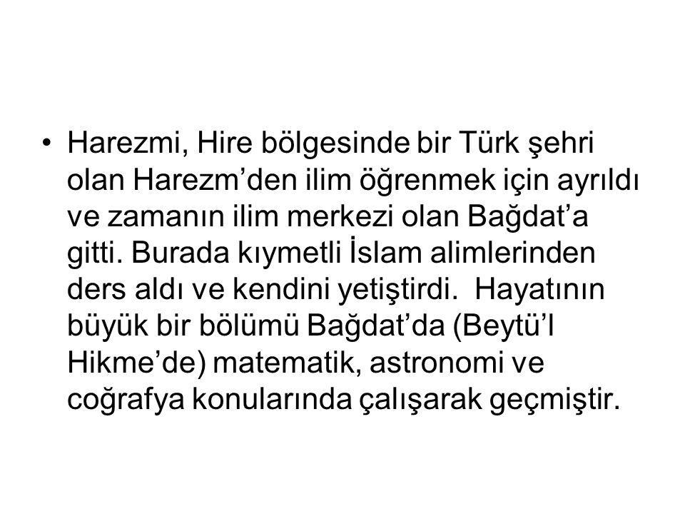 Tarihte Türk lakabını taşıyan nadir Türk bilim adamlarındandır.