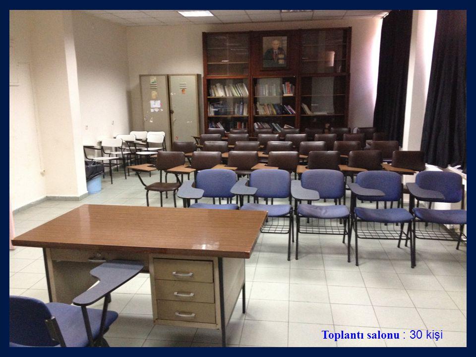 Toplantı salonu : 30 kişi