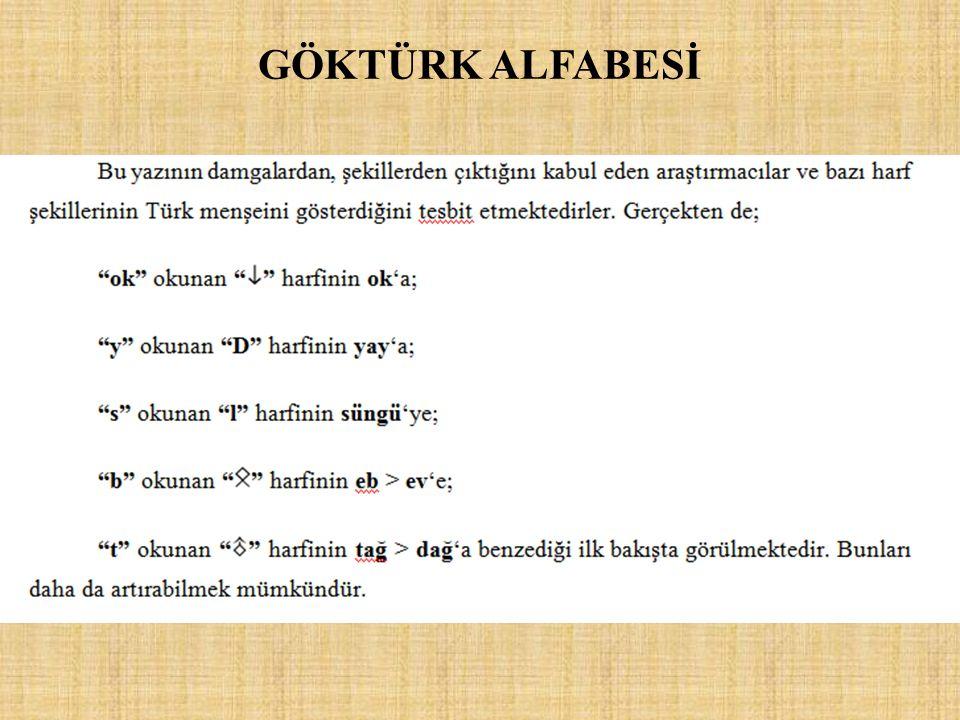 GÖKTÜRK ALFABESİ