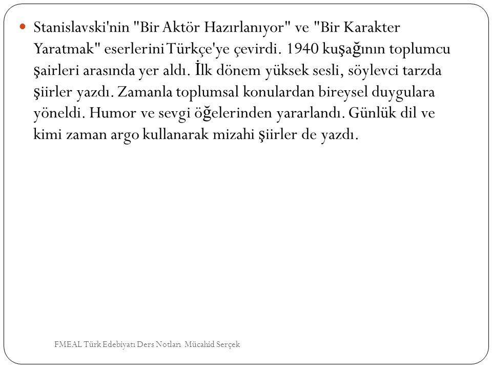 Stanislavski'nin