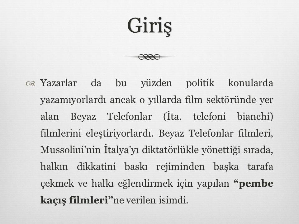 Türkiye'den örneklerTürkiye'den örnekler  Ömer Lütfi Akad'ın, Kanun Namına (1952) filmi kamera kullanımı durağanlığıyla gerçek hayattakine benzer bir akış vardır karelerin içi doludur, ve gerçek mekanlarda çekilmiş mükemmel bir takip sahnesi vardır.