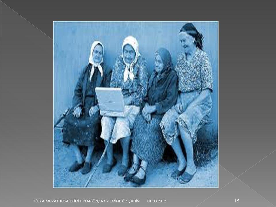 18 HÜLYA MURAT TUBA EKİCİ PINAR ÖZÇAYIR EMİNE ÖZ ŞAHİN 01.03.2012