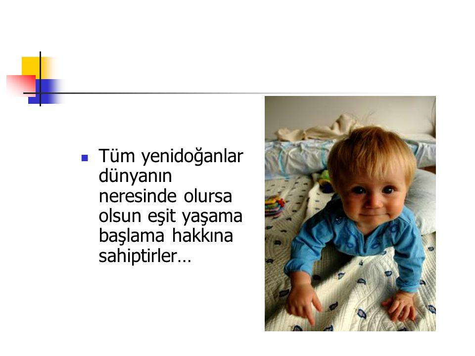Neonatal Tarama Programı Bakanlığımız tarafından tüm Türkiye genelinde uygulanacak Neonatal Tarama Programı ile, tüm yenidoğanların Konjenital Hipotiroidi ve Fenilketonüri yönünden taranacaktır.