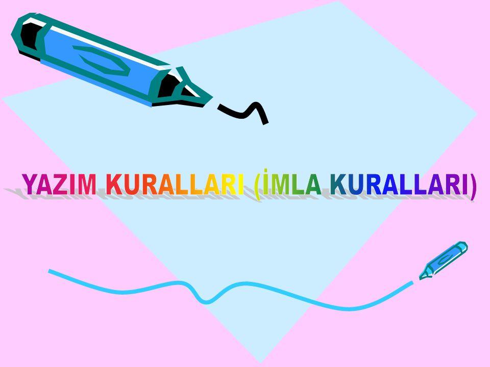 ı)Dil adları: *Türkçeye, Arapça ve Farsçadan pek çok kelime girmiştir.