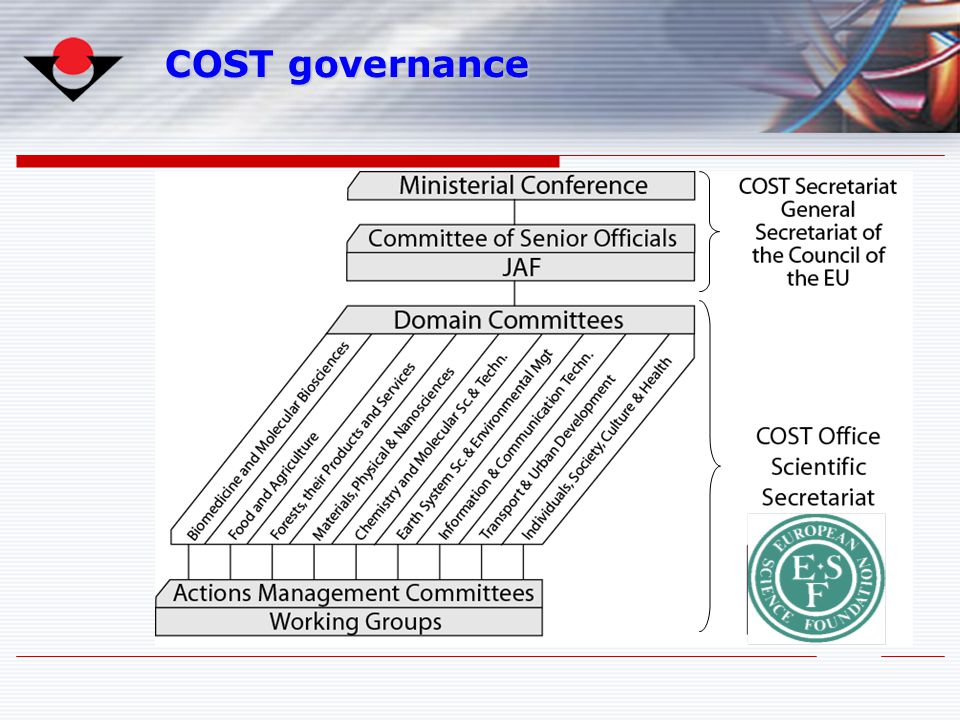 COST governance