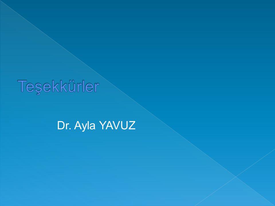 Dr. Ayla YAVUZ
