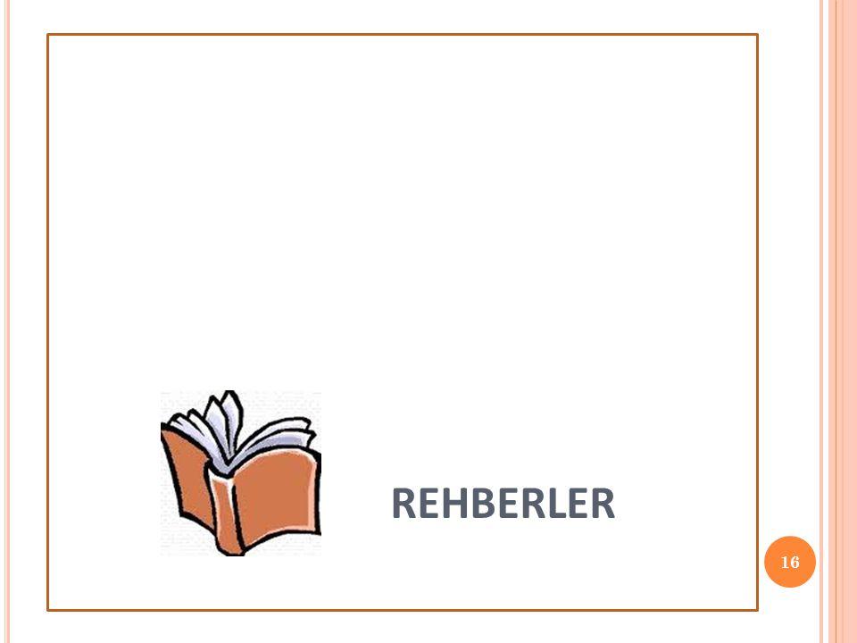 REHBERLER 16