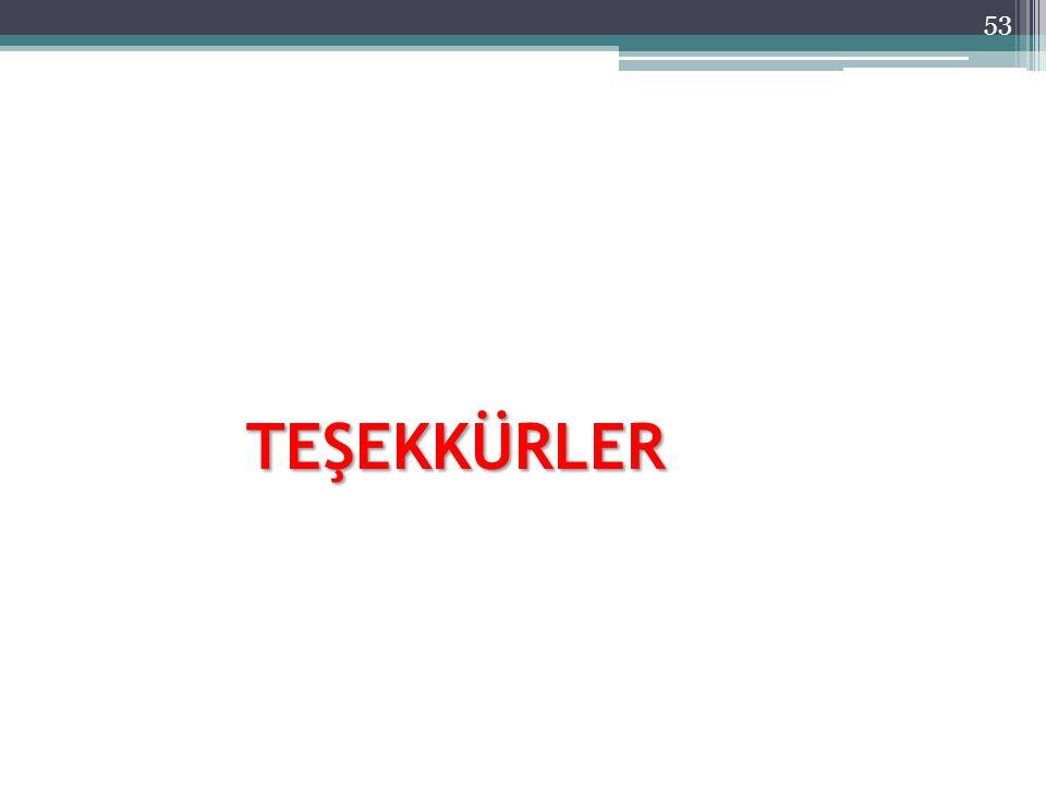 TEŞEKKÜRLER 53