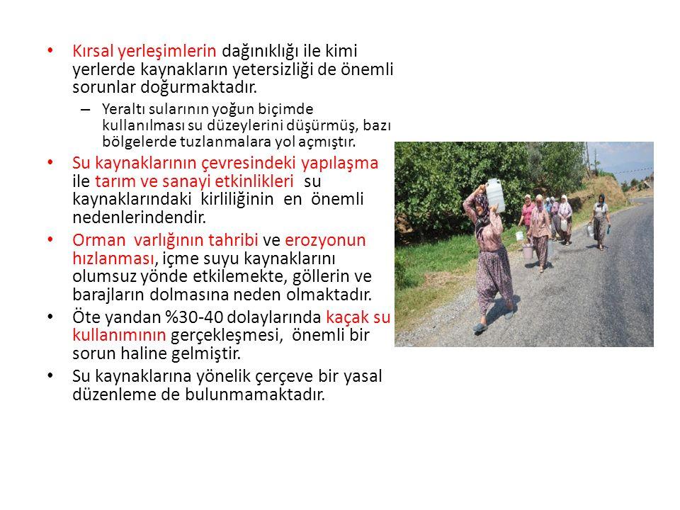 3.3.Deniz Kirliliği ve Kıyı Alanları Sorunu Türkiye, deniz kirliliği ve kıyı sorunlarıyla yüz yüzedir.