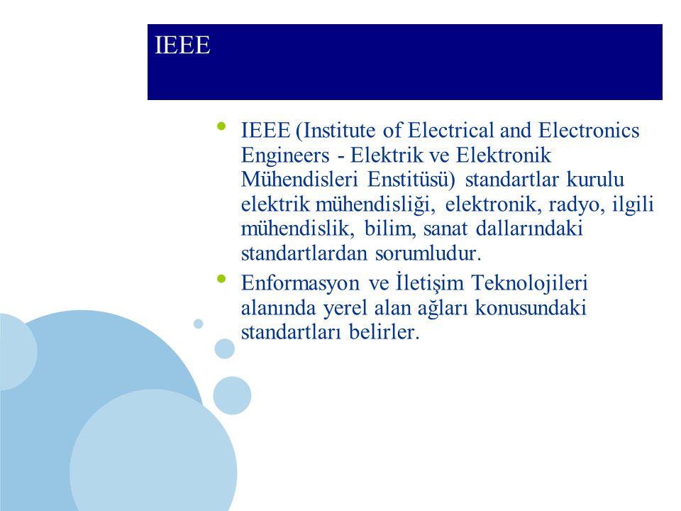 SDÜ KMYO IEEE IEEE (Institute of Electrical and Electronics Engineers - Elektrik ve Elektronik Mühendisleri Enstitüsü) standartlar kurulu elektrik müh