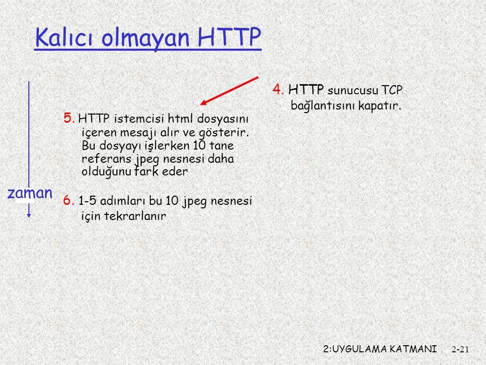 2:UYGULAMA KATMANI2-21 Kalıcı olmayan HTTP 5.