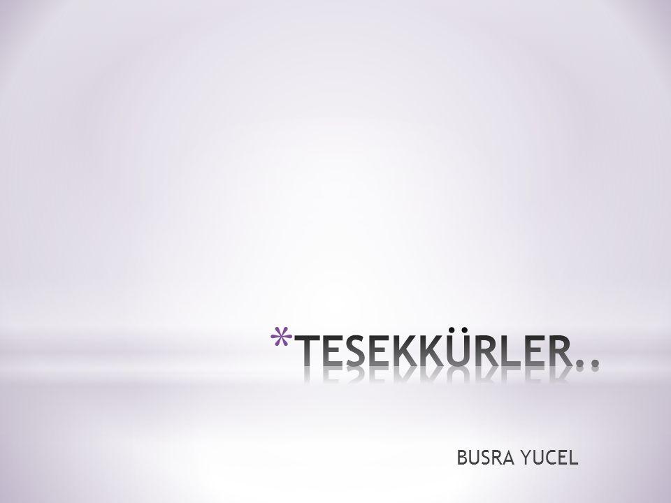 BUSRA YUCEL