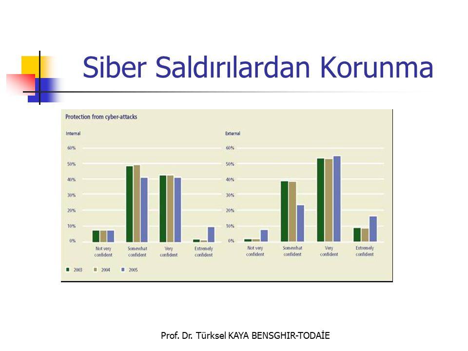 Prof. Dr. Türksel KAYA BENSGHIR-TODAİE Siber Saldırılardan Korunma