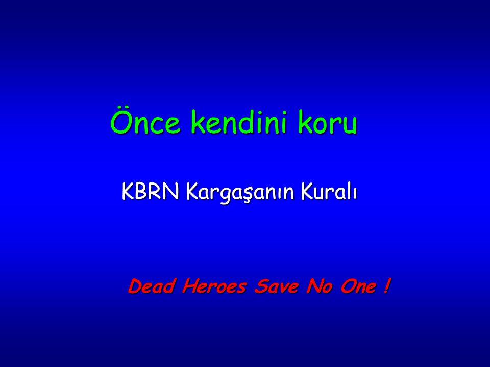 Önce kendini koru KBRN Kargaşanın Kuralı Dead Heroes Save No One !