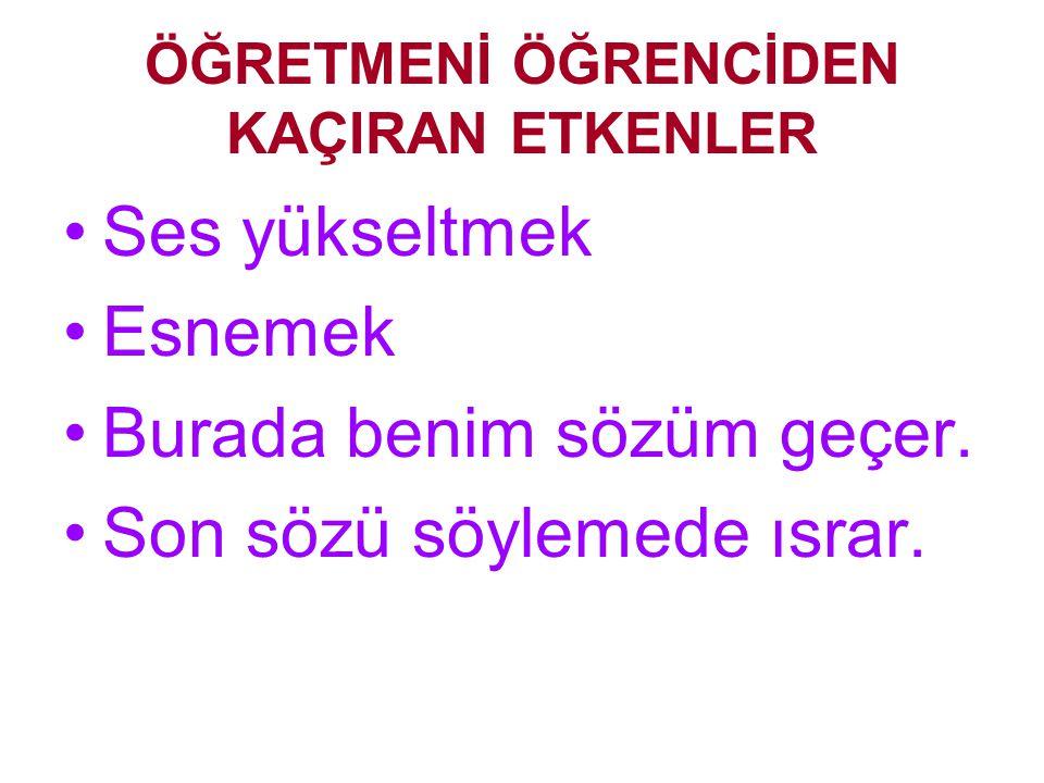 ÖĞRETMENİ ÖĞRENCİYE YAKLAŞTIRAN VE ÖĞRENCİDEN KAÇIRAN SEBEPLER Hazırlayan: Mustafa KARA İlköğretim Müfettişi Manisa 02.09.2002