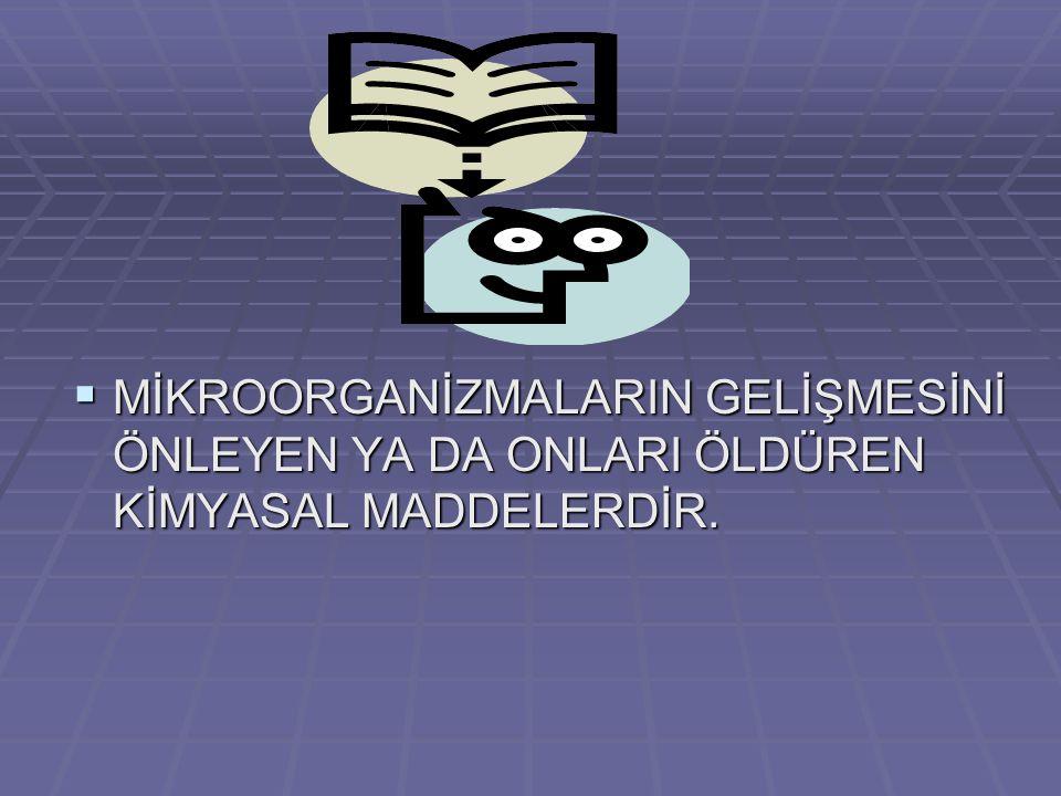 C)KLORAMFENİKOL